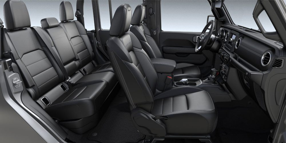 2020 Jeep Gladiator Overland Black Leather