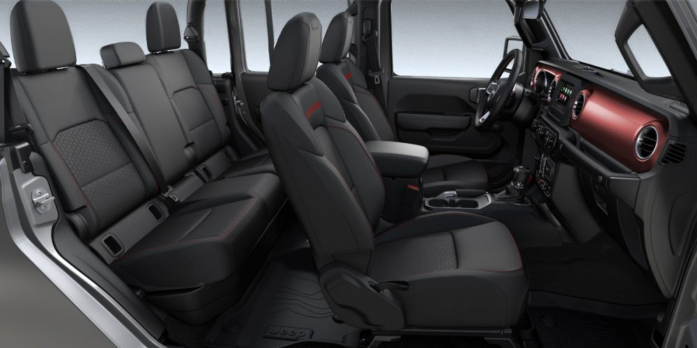 2020 Jeep Gladiator Rubicon Black Cloth