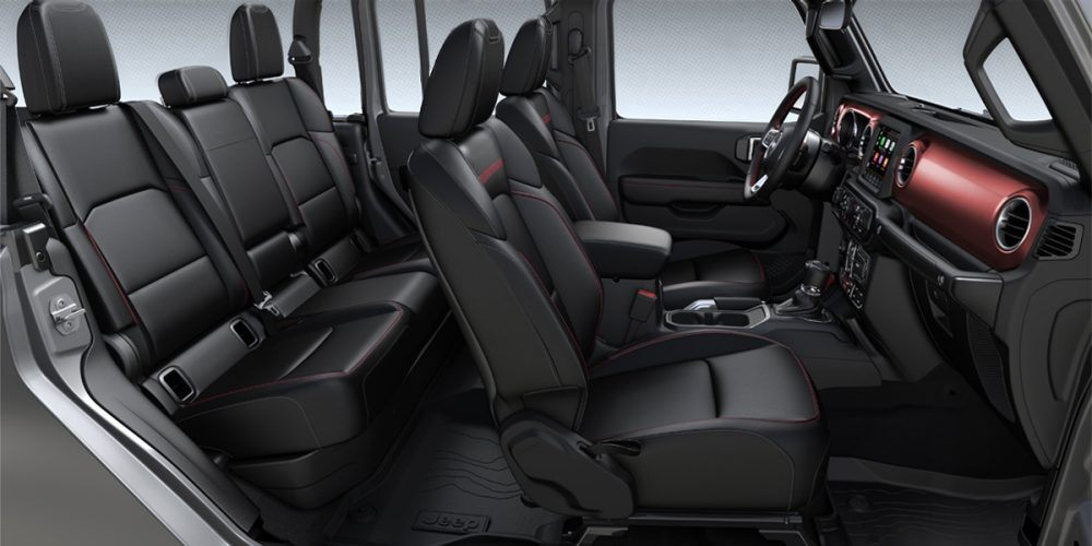 2020 Jeep Gladiator Rubicon Black Leather