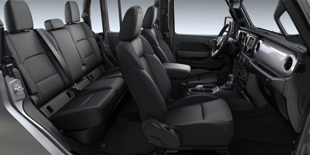2020 Jeep Gladiator Sport Black Cloth