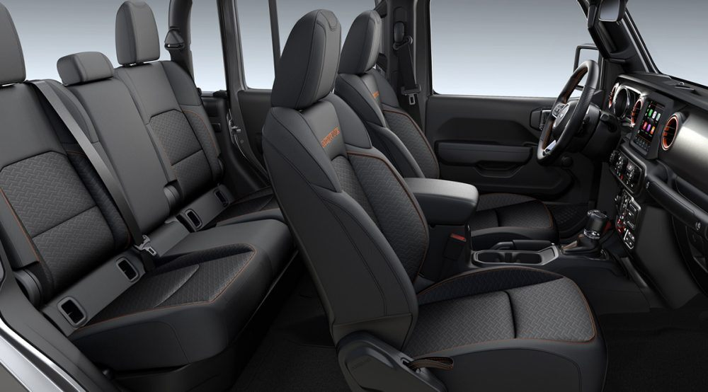 2020 Jeep Gladiator Mojave Black Premium Cloth