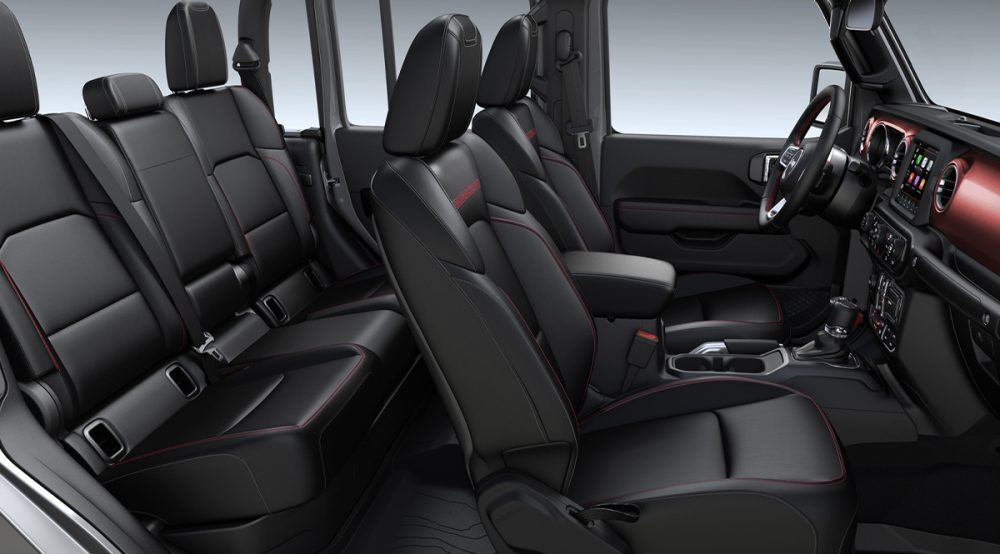 2020 Jeep Gladiator Mojave Black Leather