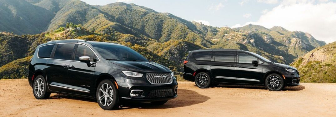 2021 Chrysler Pacifica restyled exterior