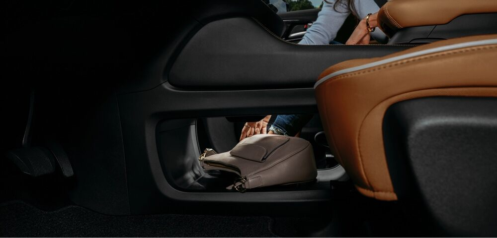 2021 Chrysler Pacifica Pinnacle™ underneath center console storage area