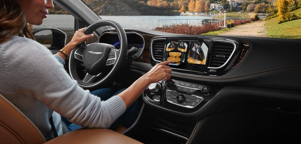 2021 Chrysler Pacifica Pinnacle™ interior seat trim