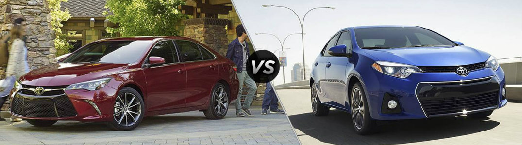 Camry Vs Corolla >> How Big Is The Toyota Camry Compared To The Corolla