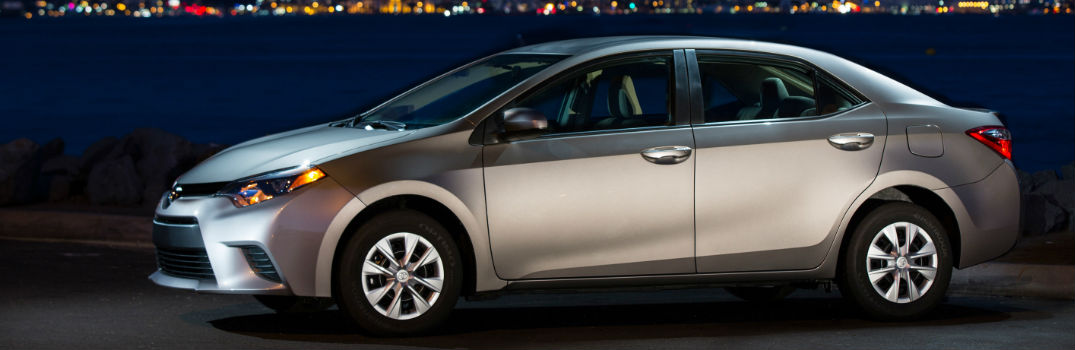 Toyota Corolla Mpg >> 2016 Toyota Corolla Models Trims And Fuel Economy Specs