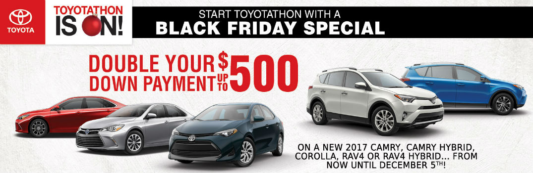 Toyota Black Friday Sales Event St. Louis