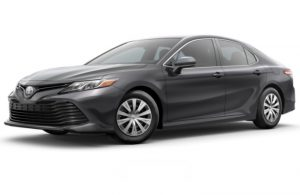 2018 Toyota Camry in Predawn Gray Mica