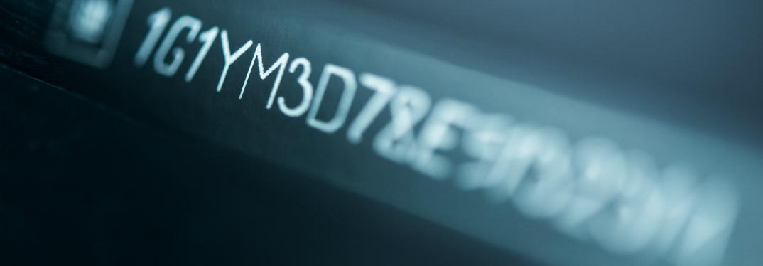 Digital Vehicle Identification Number