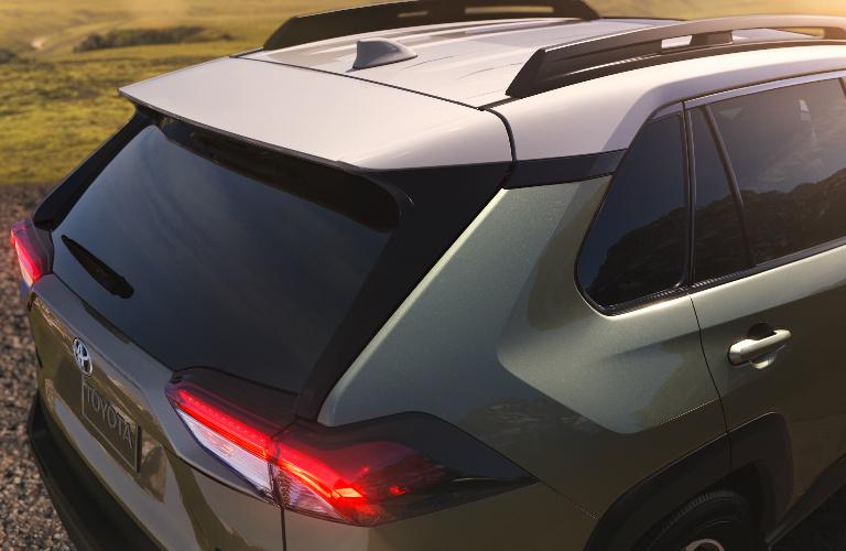 2019 Toyota Rav4 Rear Exterior And Roof Rails O Ackerman Toyota