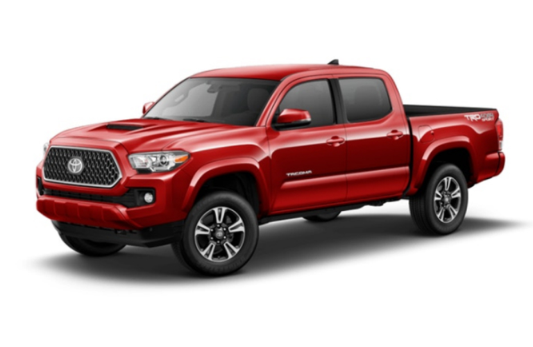 2018 Toyota Tacoma in Barcelona Red Metallic