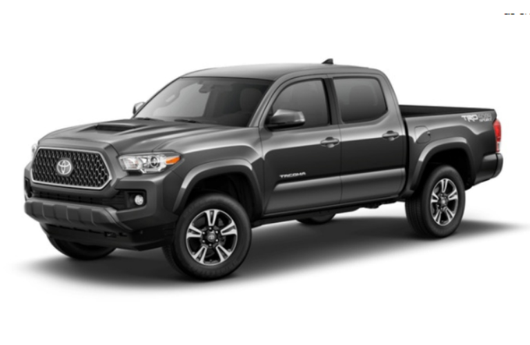 2018 Toyota Tacoma in Magnetic Gray Metallic
