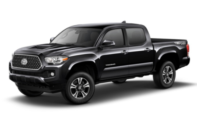 2018 Toyota Tacoma in Midnight Black Metallic