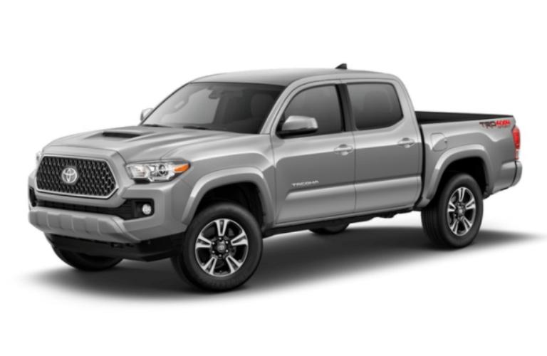 2018 Toyota Tacoma in Silver Sky Metallic