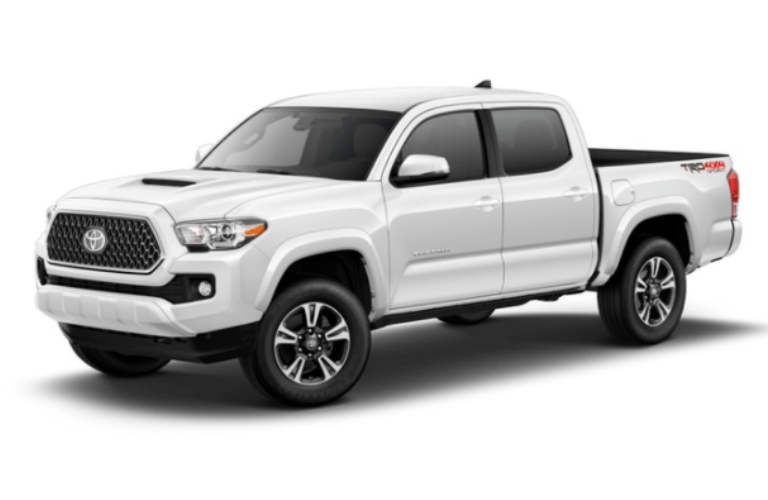 2018 Toyota Tacoma in Super White