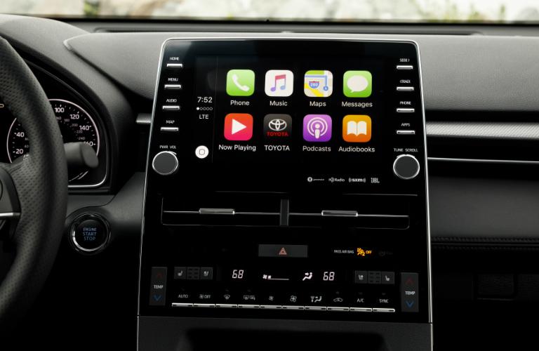 2019 Toyota Avalon touchscreen display