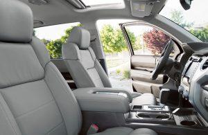 2018 Toyota Tundra front interior seats