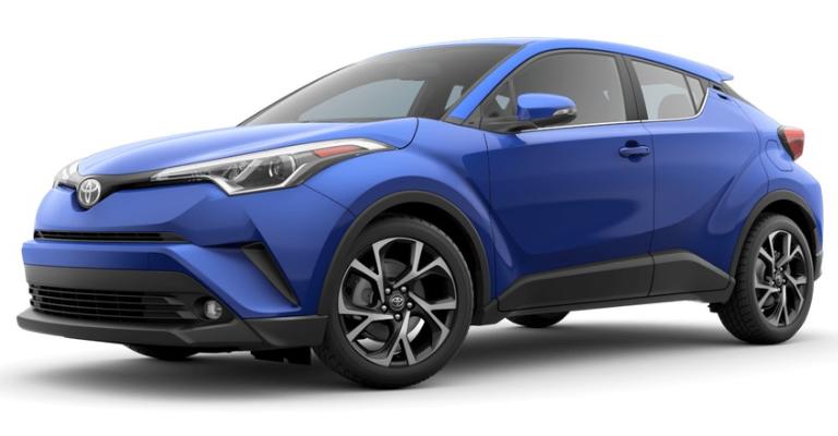 St Louis Toyota Dealer >> 2019 Toyota C-HR Exterior Paint Color Options - Ackerman Toyota