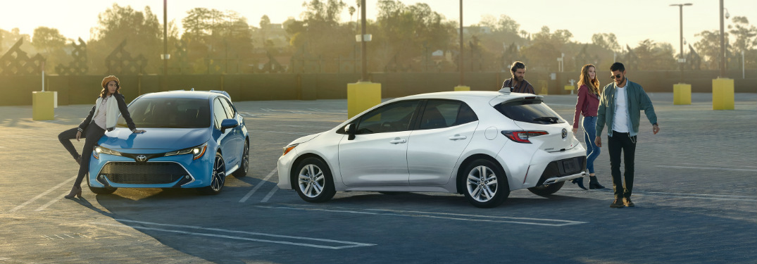 the recently released 2019 toyota corolla hatchback is taking the place of toyota corolla im models moving forward like the toyota corolla im