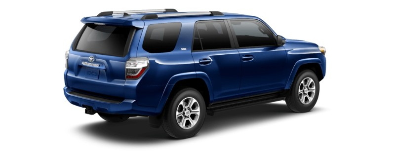 2019 toyota 4runner exterior color options