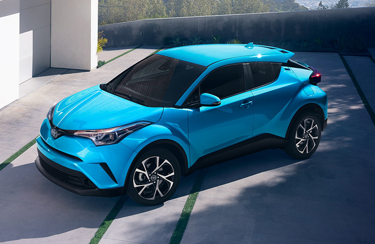 2019 Toyota C-HR parked in a driveway