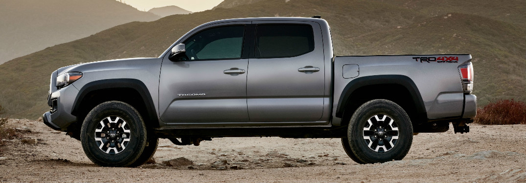 2020 Toyota Tacoma side profile