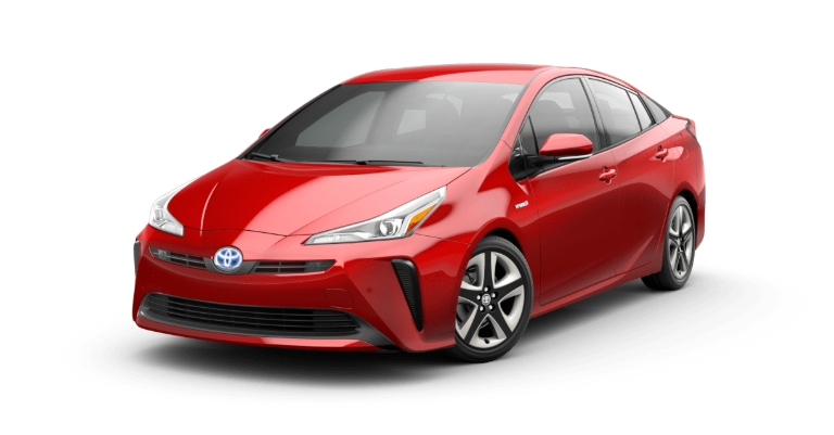 2019 Toyota Prius Supersonic Red