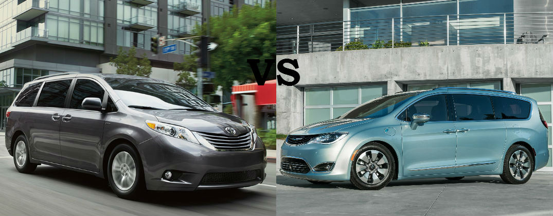... 2016 Toyota Sienna Vs 2017 Chrysler Pacifica At Gale Toyota Enfield CT Toyota  Sienna