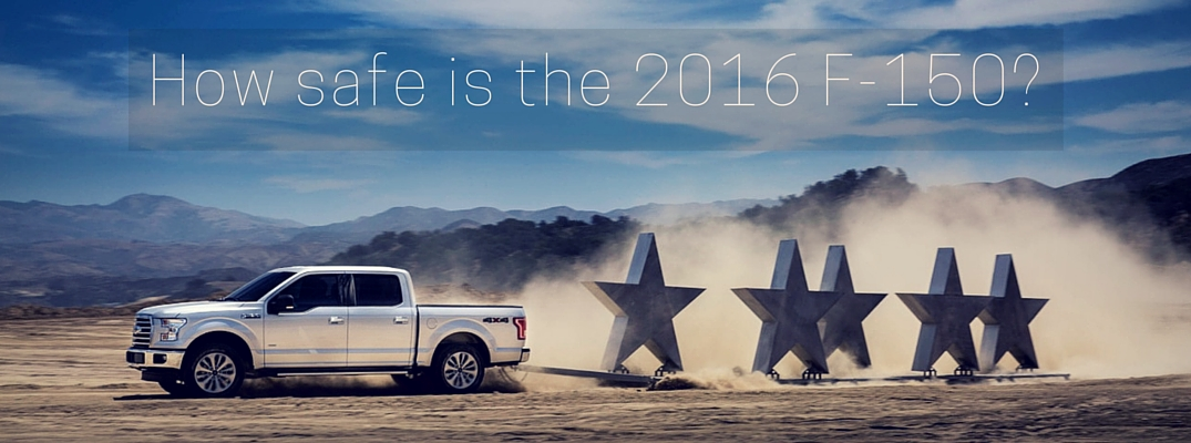 2016 Ford F-150 safety awards