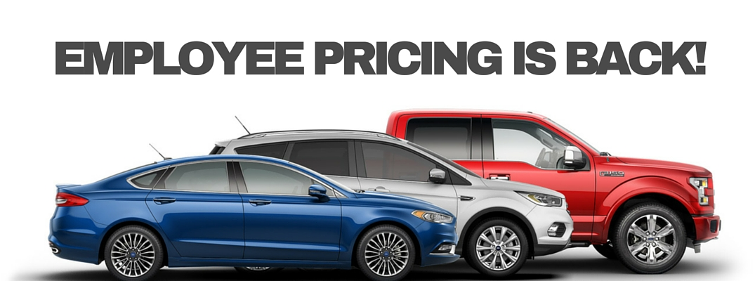 Employee pricing ford