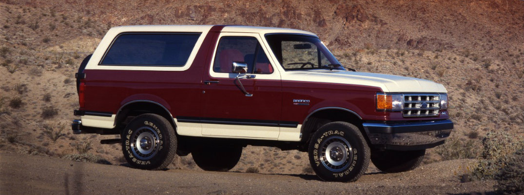return of the Ford Bronco