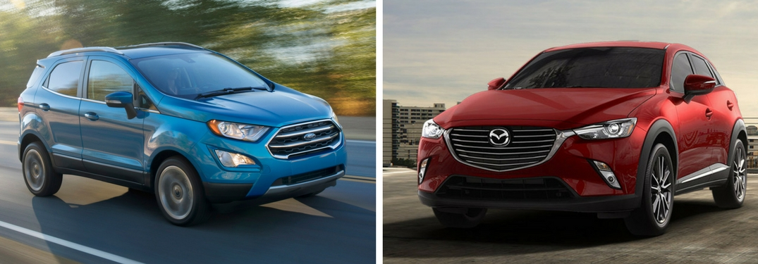 2018 ford ecosport vs 2017 mazda cx-3