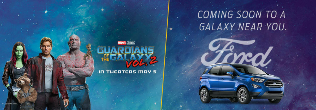 ford ecosport guardians of the galaxy commercial