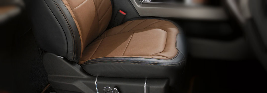 Ford F-150 Multi-Contour Seats with Active Motion
