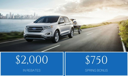 Ford Edge June Incentives