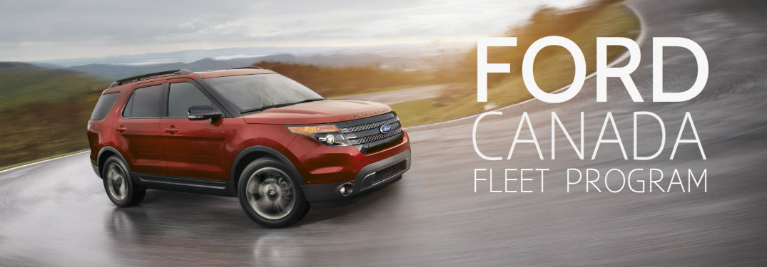 Ford Credit Canada Jobs Edmonton: Explore The Benefits Of The Ford Canada Fleet Program For
