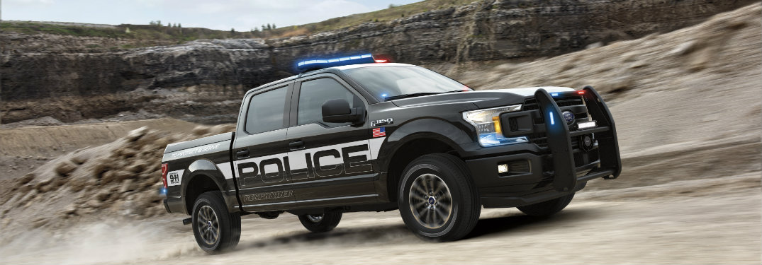 New Ford F-150 Pursuit-Rated Model