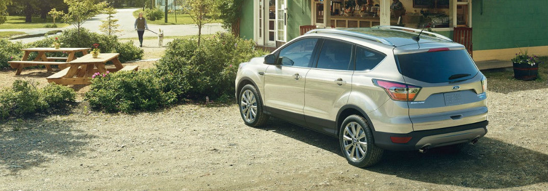2017 ford escape cargo features and capacities. Black Bedroom Furniture Sets. Home Design Ideas
