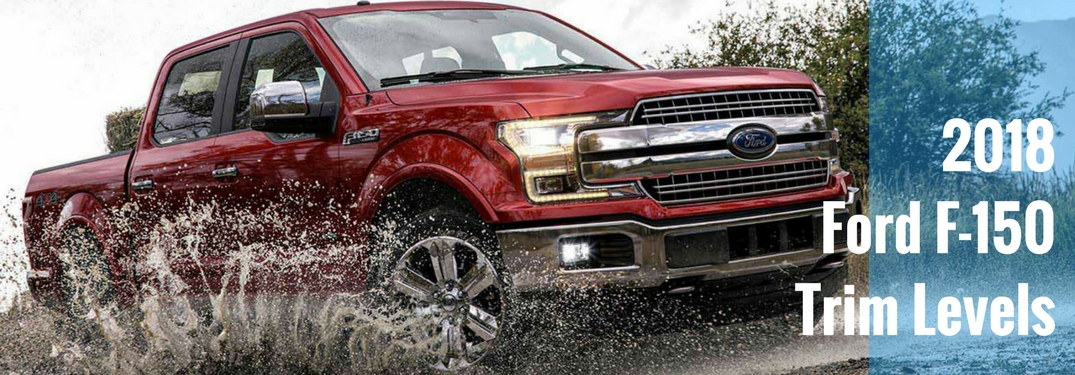 2018 ford f 150 available trim levels and options. Black Bedroom Furniture Sets. Home Design Ideas