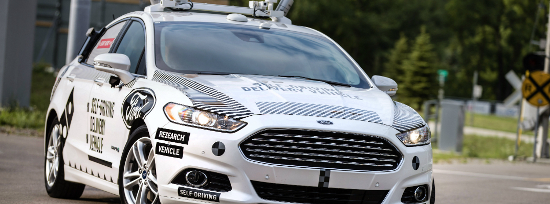 Ford Introduces First Self-Driving Delivery Vehicle Exterior