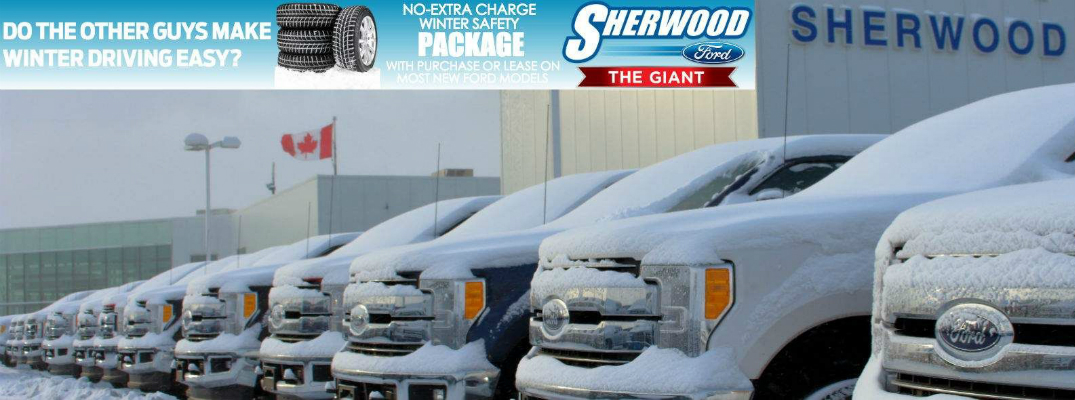 What is the Ford Winter Safety Package? Sherwood Ford