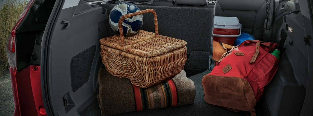 2018 Escape With Picnic Supplies in Rear