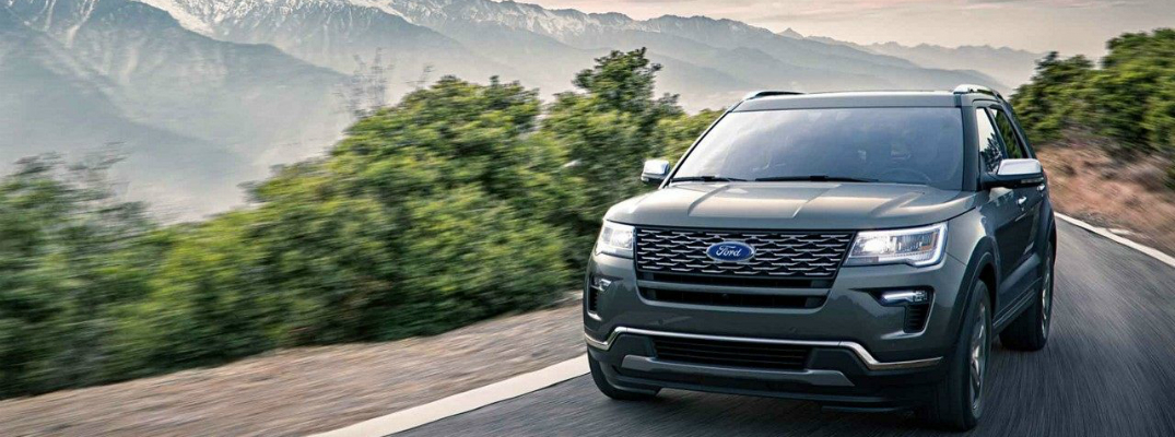 What Is The Cargo Capacity Of The 2018 Ford Explorer