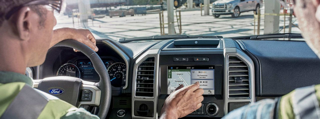 Infotainment System in the 2018 Ford F-150