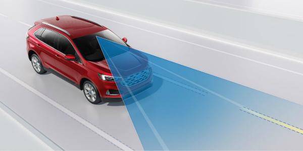 Adaptive Cruise Control Sensor On The  Ford Edge