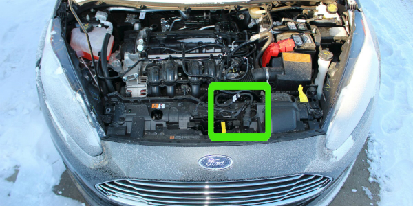 Engine Block Heater On A Ford Fiesta