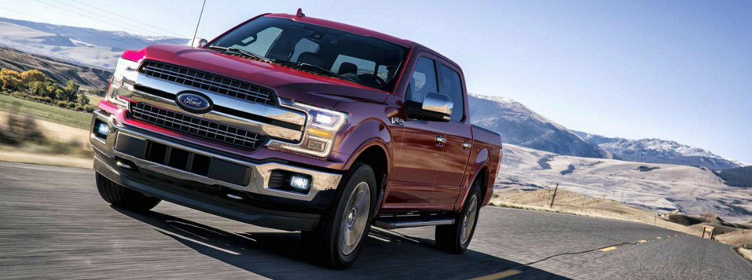 2018 Ford F-150 Lariat available engine options and ...