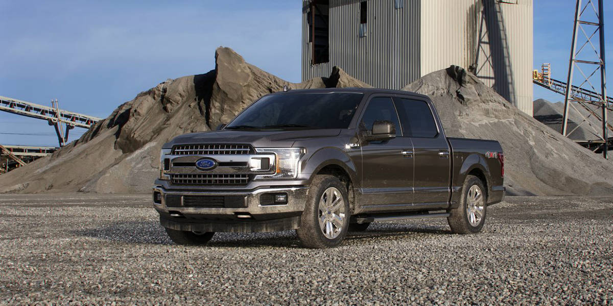 Sherwood Park Ford >> 2018-Ford-F-150-in-Stone-Gray-side-view_o - Sherwood Ford