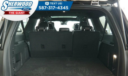 Rear Cargo Area Of  Ford Expedition At Sherwood Ford